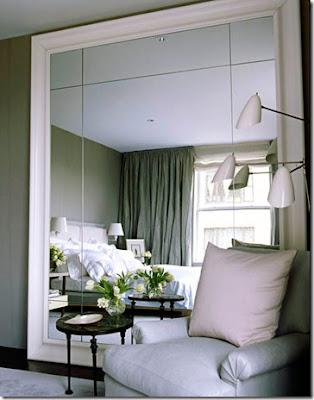Espelhos para ambientes modernos