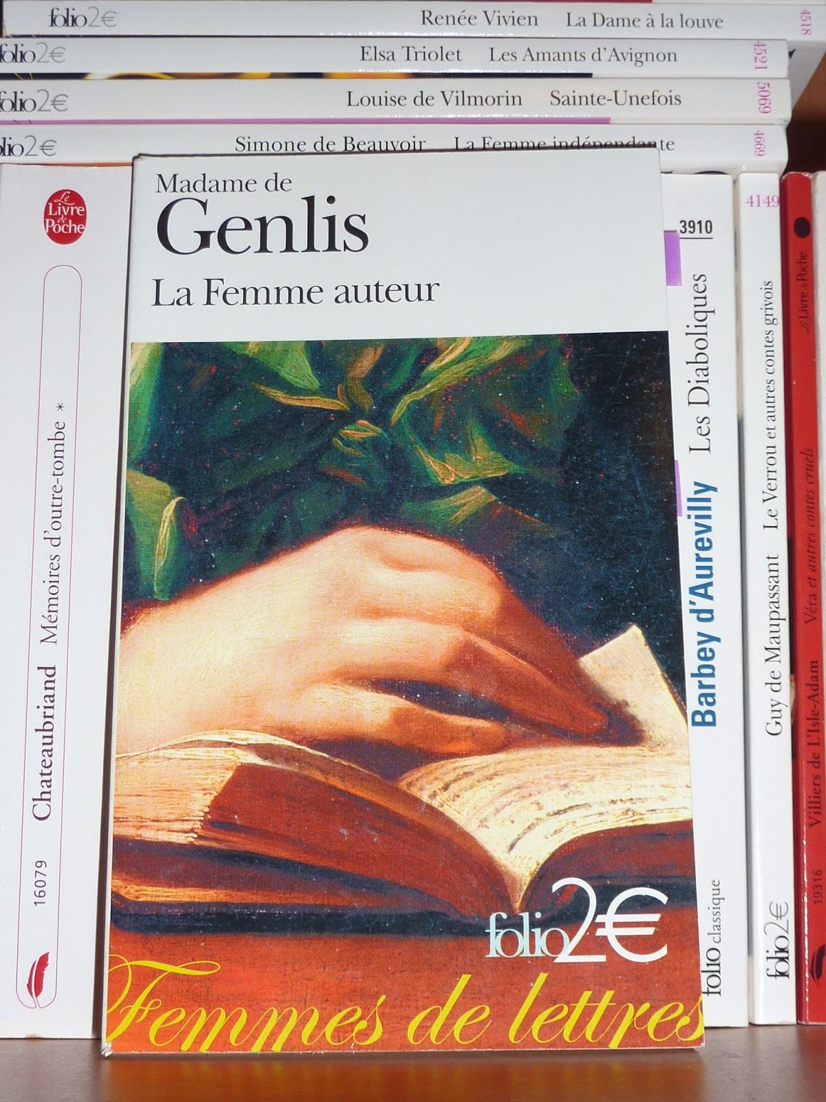 La femme auteur - Madame de Genlis