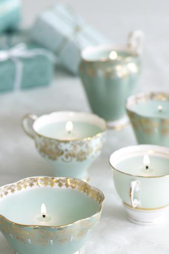 Ideas: De tazas a velas