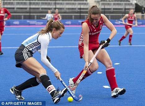 Argentina vs Britain Hockey Fashion♡ London Olympics 2012