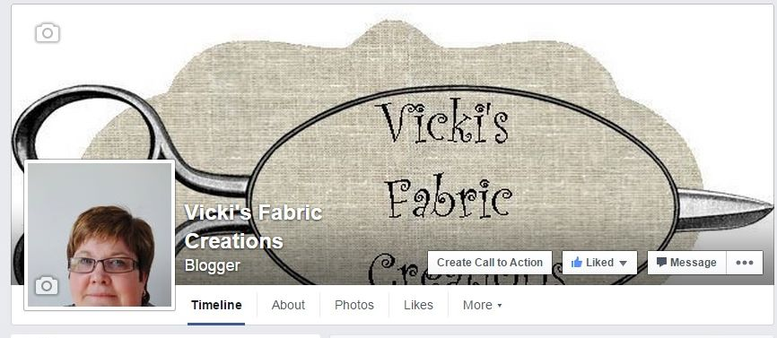 Vicki's Fabric Creations Facebook
