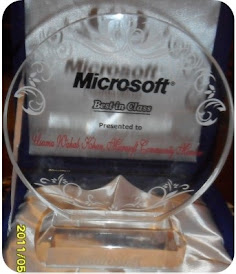 Microsoft Community Recognition Award