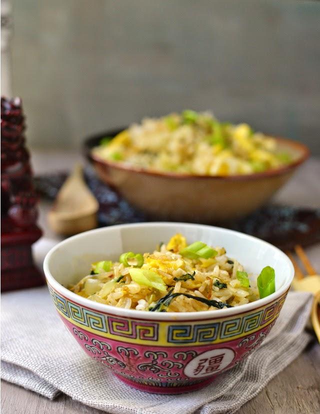 Vegetarian Shanghai Fried Rice