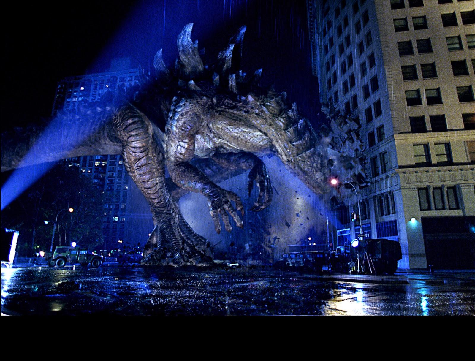 Cinema-Universe: GODZILLA 1998 VS GODZILLA 2014