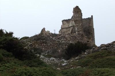 Ruinas del Santuario de Ntra. Sra. de Toloño