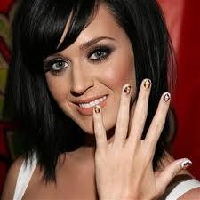 celebrities nail art 2012