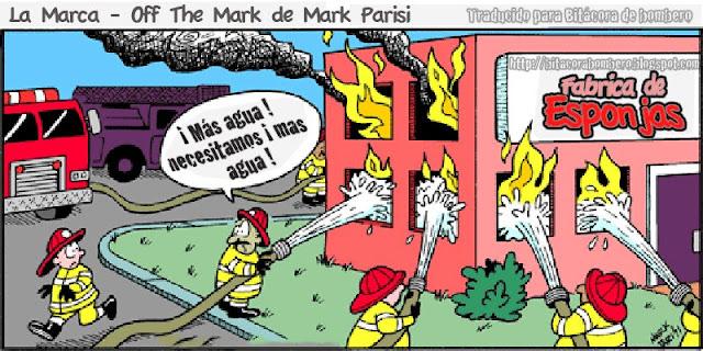 Bitcora de Bombero Burnout Una paradoja bomberos esponjas