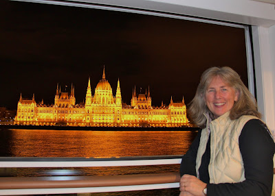 European Christmas Markets river cruise, Budapest Parliament Building.  Photograph by Janie Robinson, Travel Writer