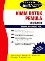 toko buku rahma: buku KIMIA UNTUK PEMULA, pegarang david e. golberg, penerbit erlangga