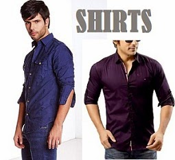 Men's Casual / Formal Shirts : Min 50% & Upto 70% Off starts from Rs.249 Only @ Amazon