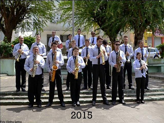 Banda Marcial Mariano de Assis de 2015