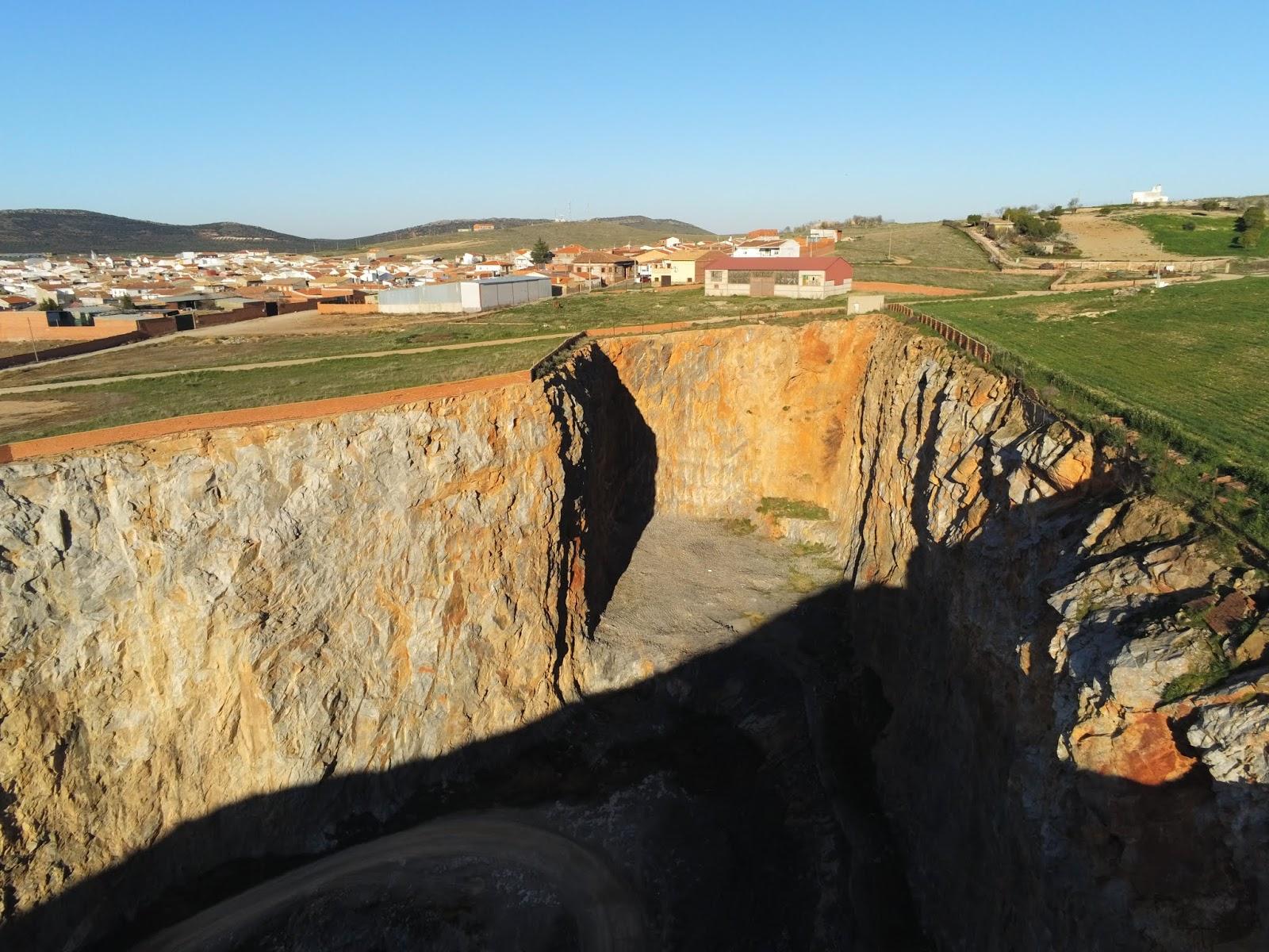 Canteras de Urda (Toledo) a vista de dron