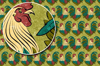 Rooster Surface Design