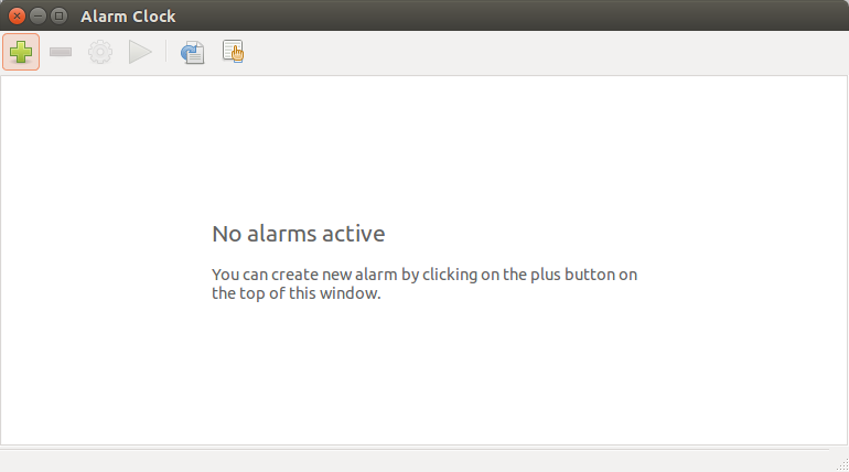 Будильник Ubuntu 14 04