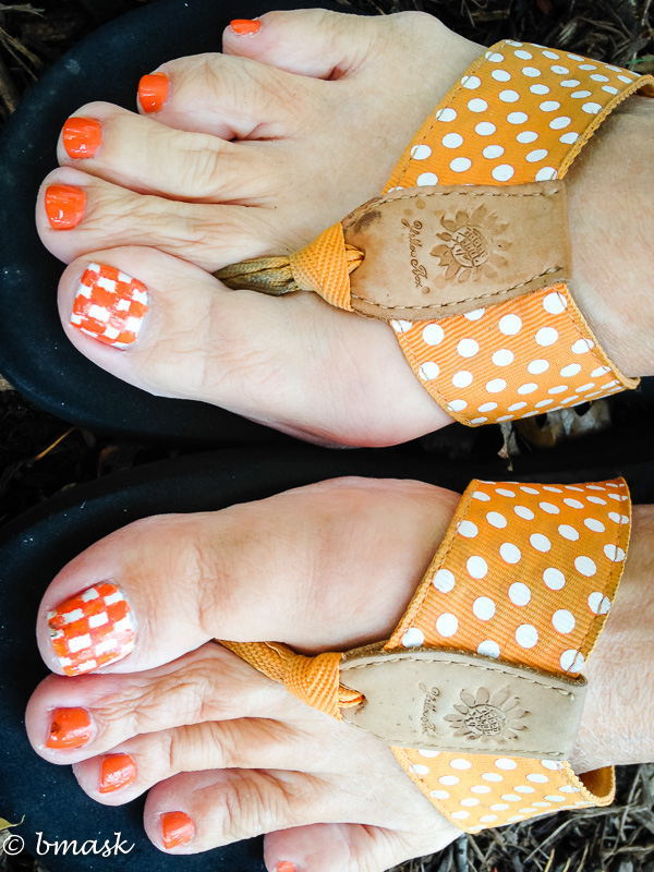 Orange Nail Polish