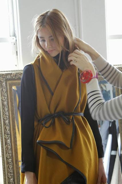 Heidi Merrick Fall 13 Shoot with Saffron Poncho