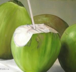 ... agar memperbanyak minum air kelapa muda terutama dari kelapa hijau
