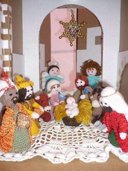 Miél Ideas: FIGURAS DE PESEBRE En crochet
