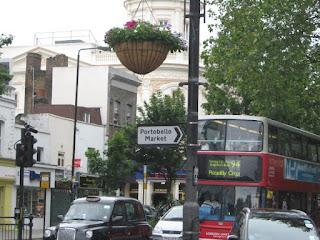 Notting Hill - Portobello Market (Mercado de Portobello)