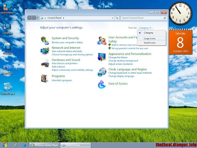 Ghost Windows 7 nhẹ nhất cho máy cấu hình yếu