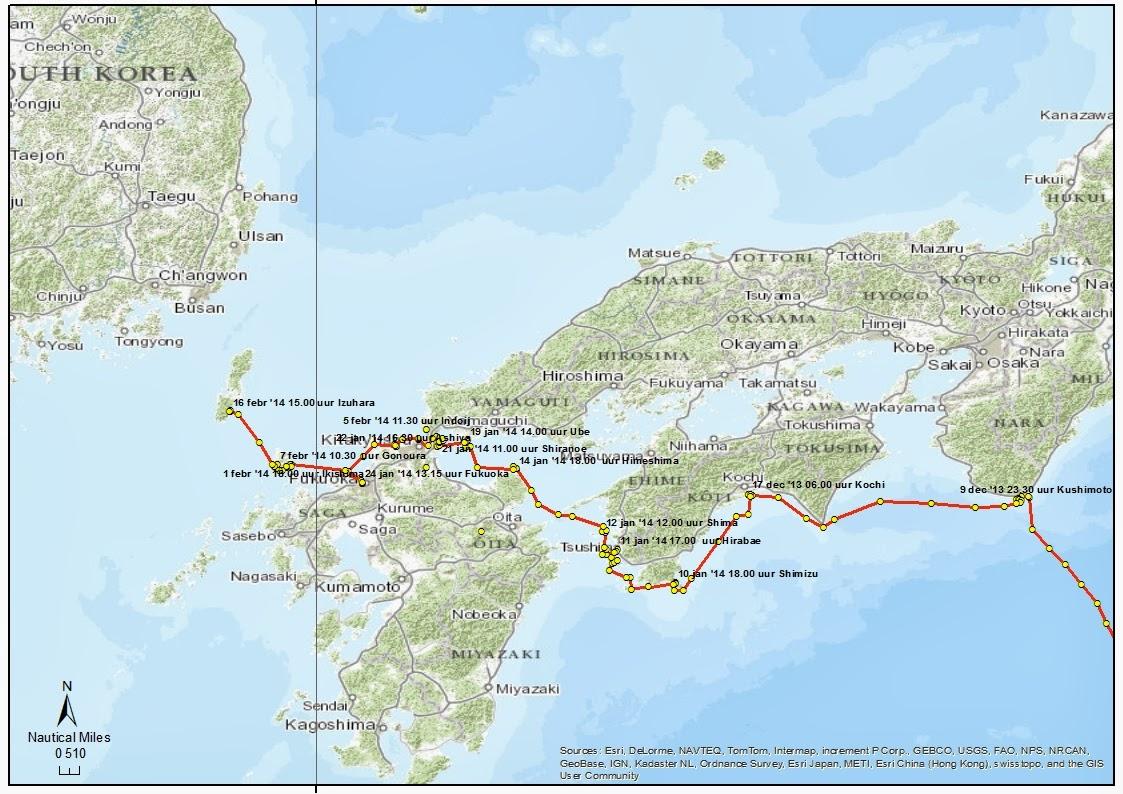 Route japan