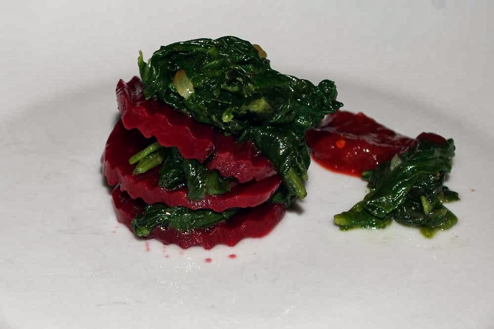 Beetroot and Spinach Stack - Garden Super Heroes: Sponsored by CretaVita Olive Oil
