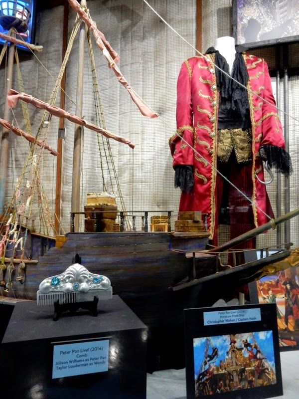 Peter Pan Live Captain Hook costume TV props