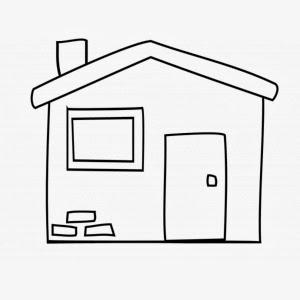 Disegni di case da colorare for Disegni di mattoni a casa