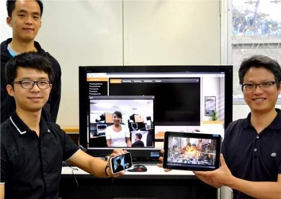 TV de bolso virtual leva o programa, e não a TV