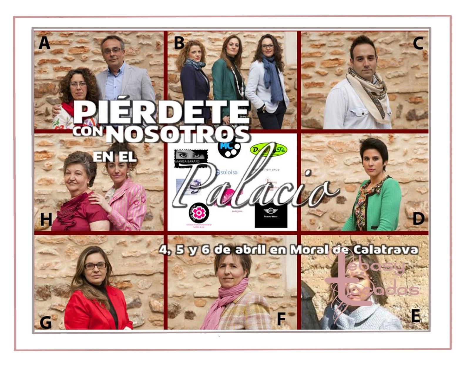 Artesanos y empresas participantes en Piérdete en Palacio, entre ellos Lebasy Tocados