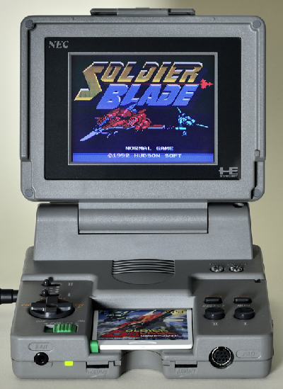 [SONDAGE] Quelle console PORTABLE a le meilleur DESIGN? Pc+engine+lt+gunhed