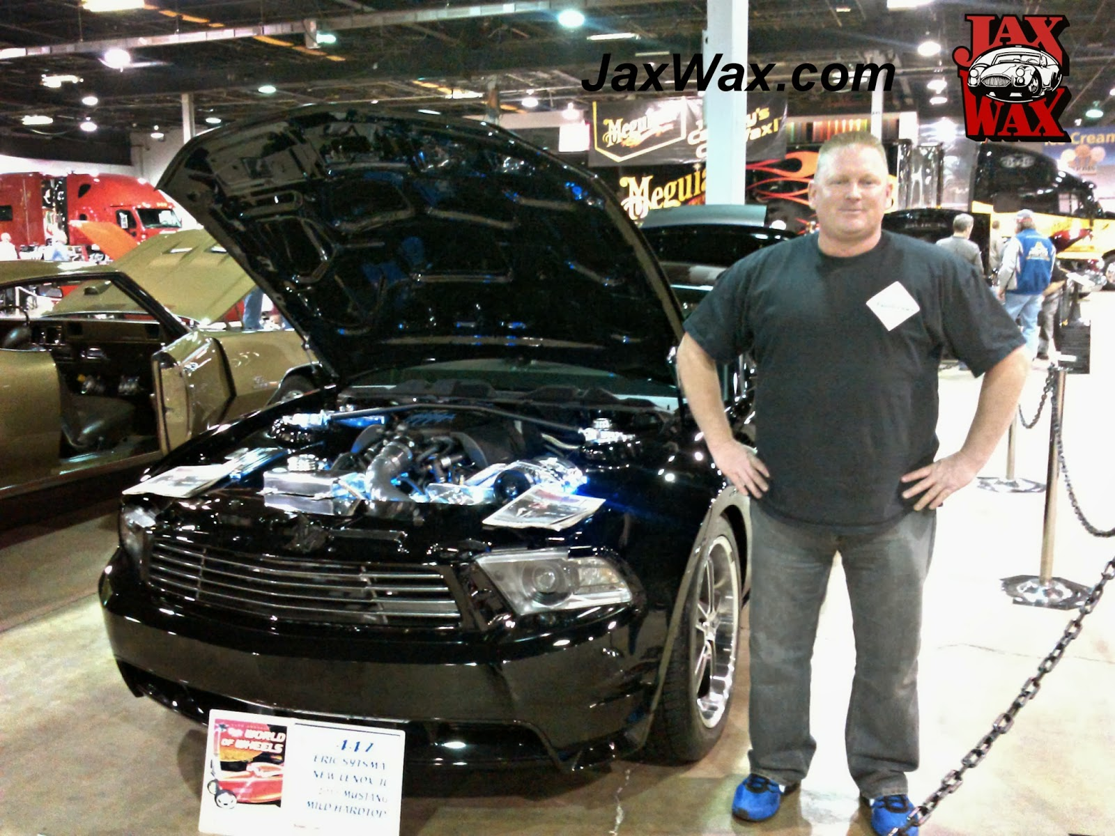 2011 Ford Mustang GT Jax Wax Customer Chicago World of Wheels
