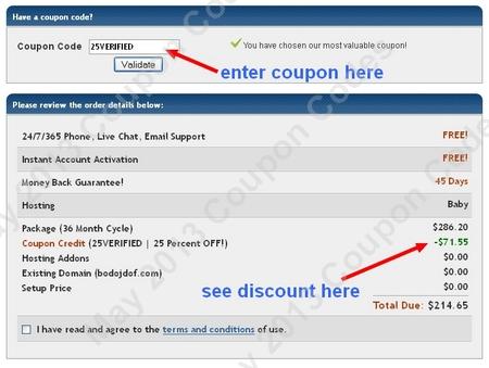 coupon codes