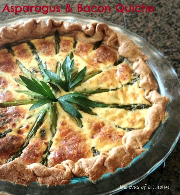 Asparagus & Bacon Quiche