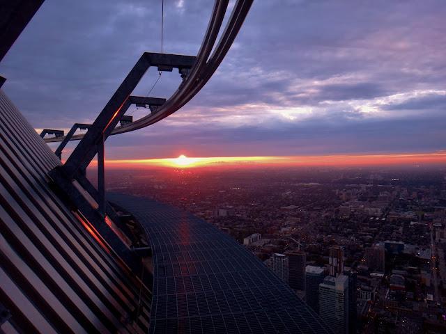 Explore, Toronto, Edge Walk, View, city, high, tourist, attraction, guiness world record, sunset, aerial, lifestyle, adventure, urban, the purple scarf, ontario, canada