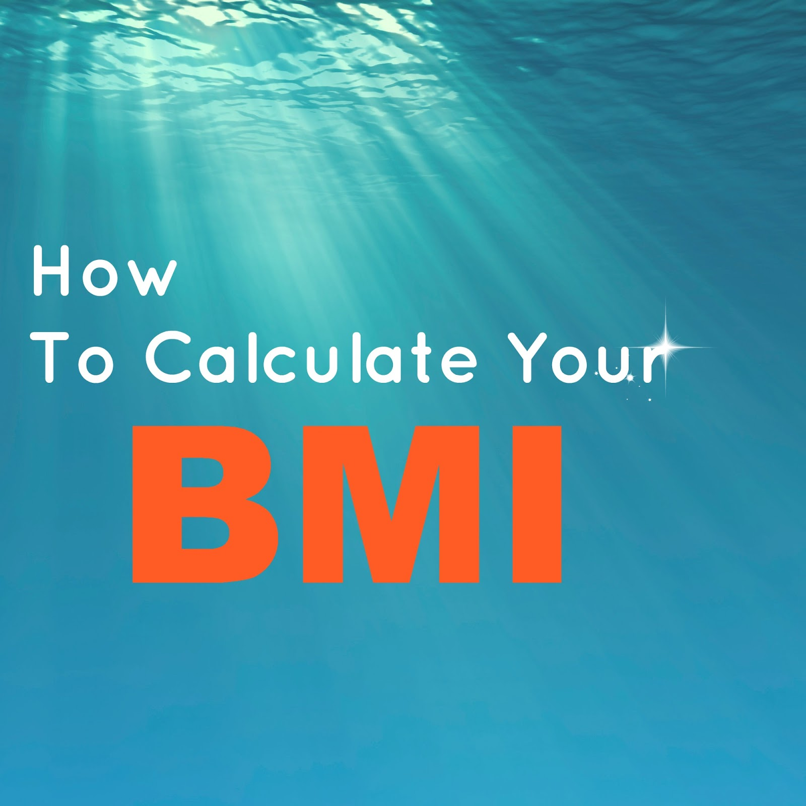 Easy way to calculate your bmi