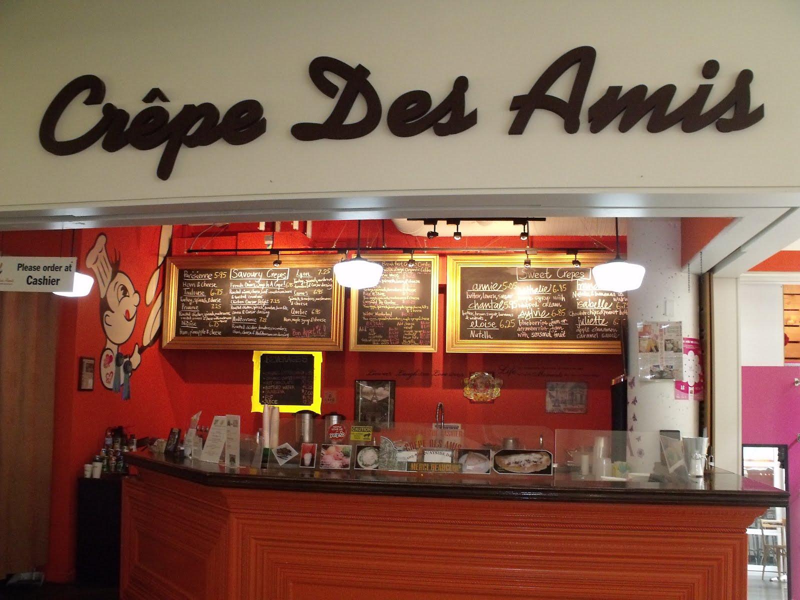 CREPE DES AMIS