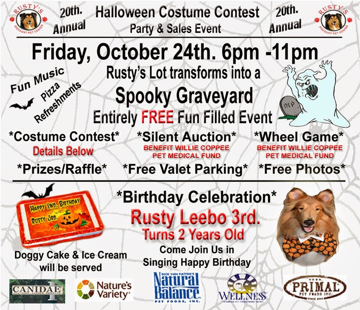 Rusty's 20th Annual Halloween Party!