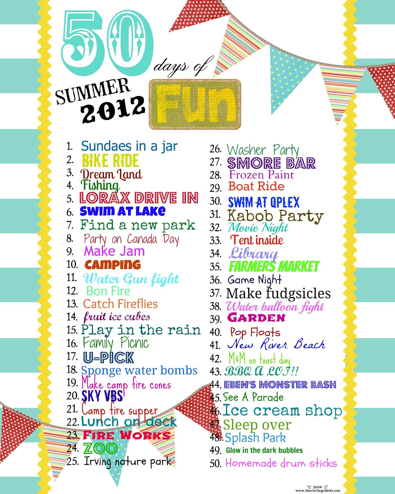 Kate 39 s kitchen summer fun for Cool things to print out