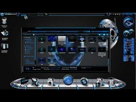 Tema AlienWare Blue para windows 7