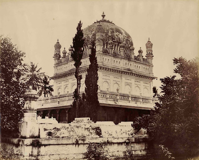 Srirangapatna Mausoleum Erected over Tipu Sultan and Haider Ali.1870