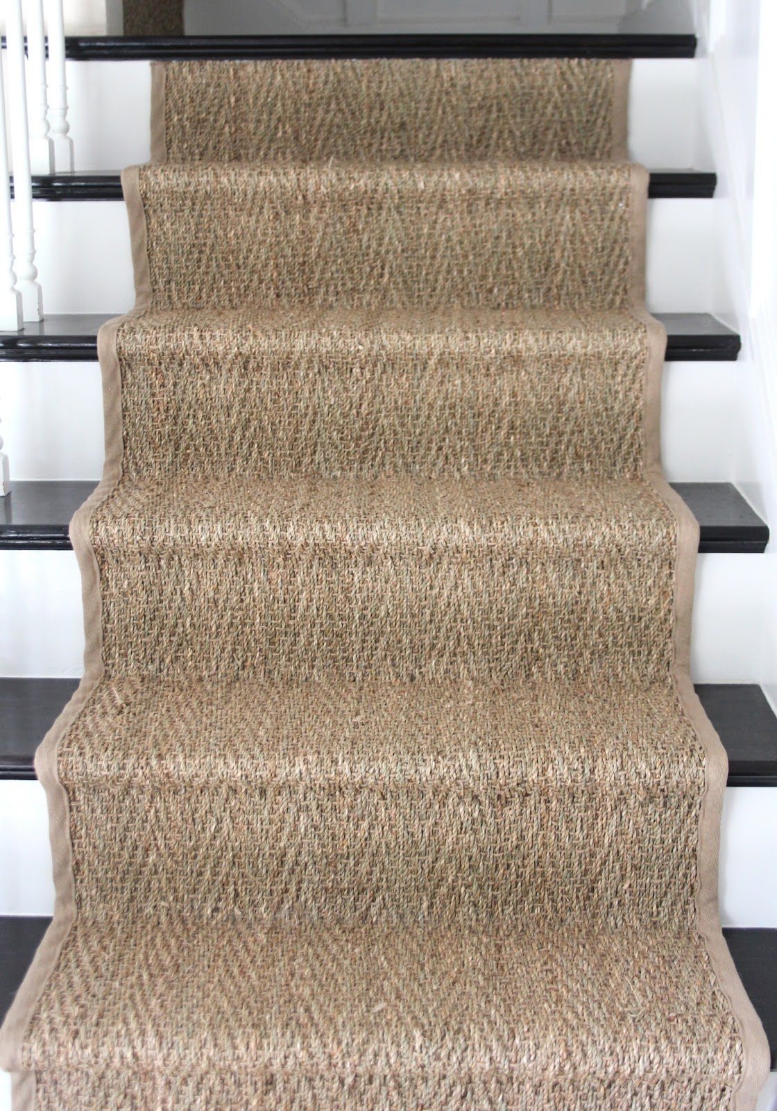 How To: Seagrass Stair Runner - Shine Your Light