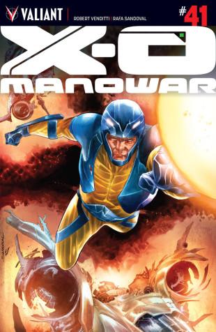 X-O MANOWAR#41