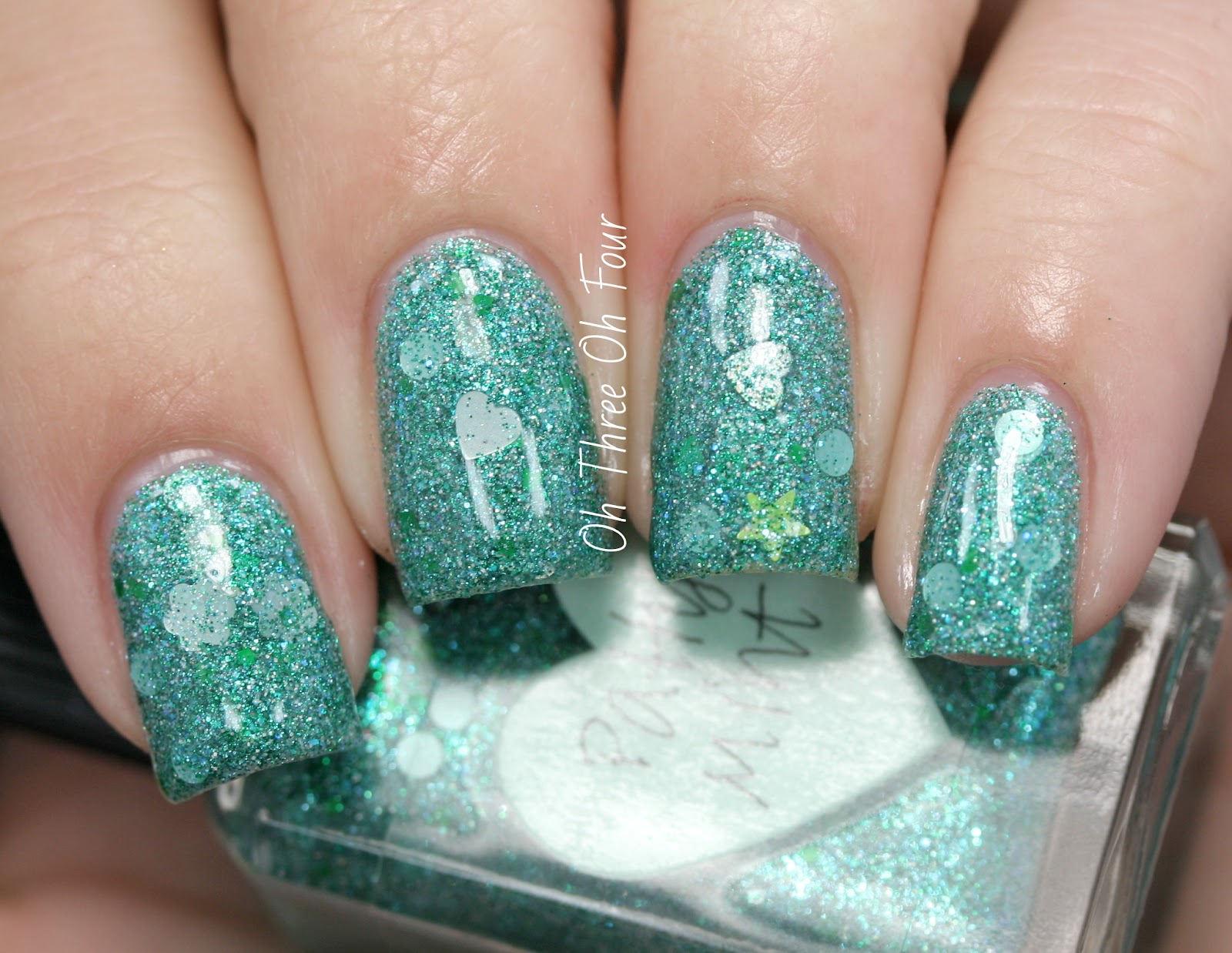 Lynnderella Patty Mint Swatch