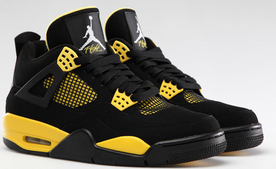 jordan retro 4 yellow release date