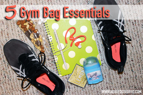 gym bag, fitness gear, asics gel fit sana, koss earbuds, fitfluential