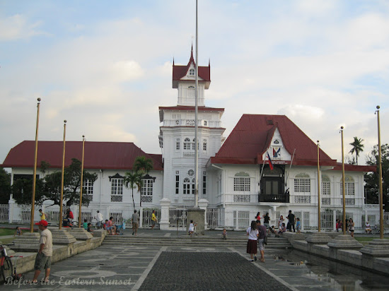 Aguinaldo Shrine from afar