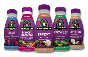 Sambazon Energy Drink Nutrition