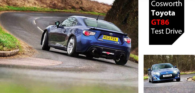 Cosworth Toyota GT86 Test Drive