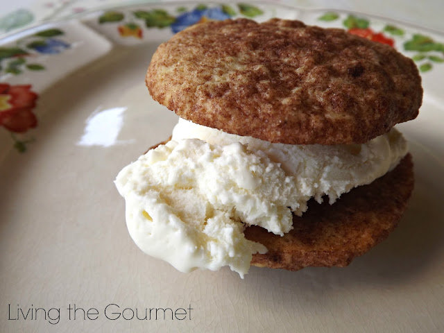Snickerdoodle Ice Cream Sandwich